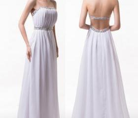 Backless Long Chiffo..