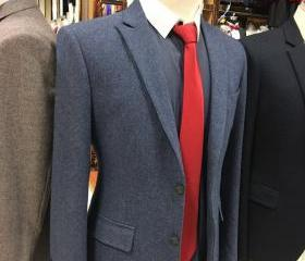 Blue Tweed Men Suit ..
