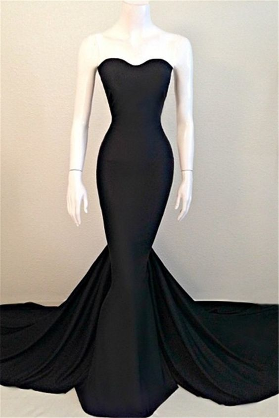 Mermaid Black Dresses