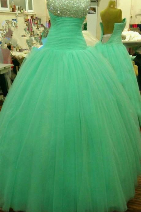 Prom dresses | Tulle, strapless, off shoulder prom dress | Luulla