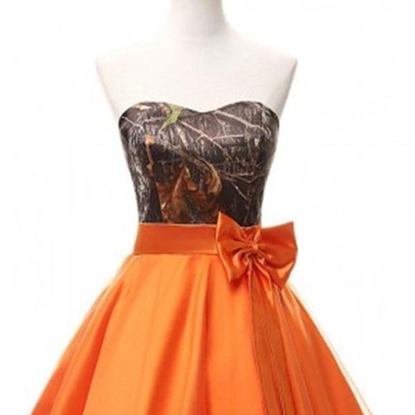 Above Knee Mini satin Homecoming Dress Strapless Women Dress
