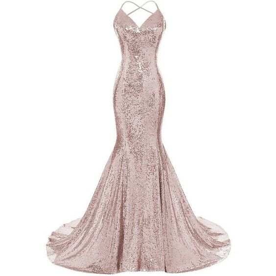 Halter Neck Mermaid Sequin Lace Prom Dress Straps Floor Length